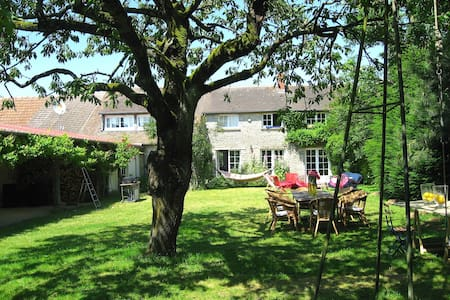 Charming house 70 km from Paris - Casa