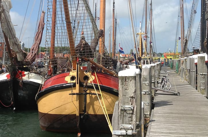 Traditional Sailing Ship  in West-Terschelling