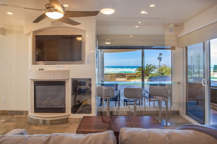 Beachfront Condo with SHARED HOT TUB/634sqft/2bdrm - San Diego - Condominio
