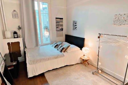 Chambre cocooning aux portes de Paris