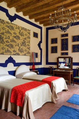 Camera Blu in Villa - Barbarano vicentino - Bed & Breakfast