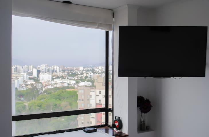 City View Aparment balcony Top location Miraflores