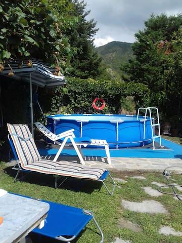 Casa vacanze Jacopo e Azzurra Comano Alta Toscana