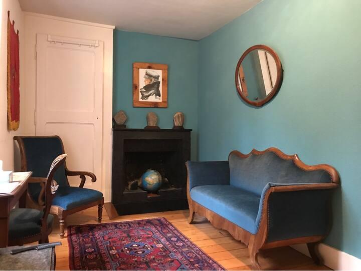 The Corto Maltese room in farmhouse
