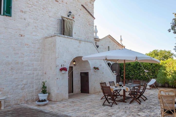 Villa in Monopoli for 4 guests near the Sea