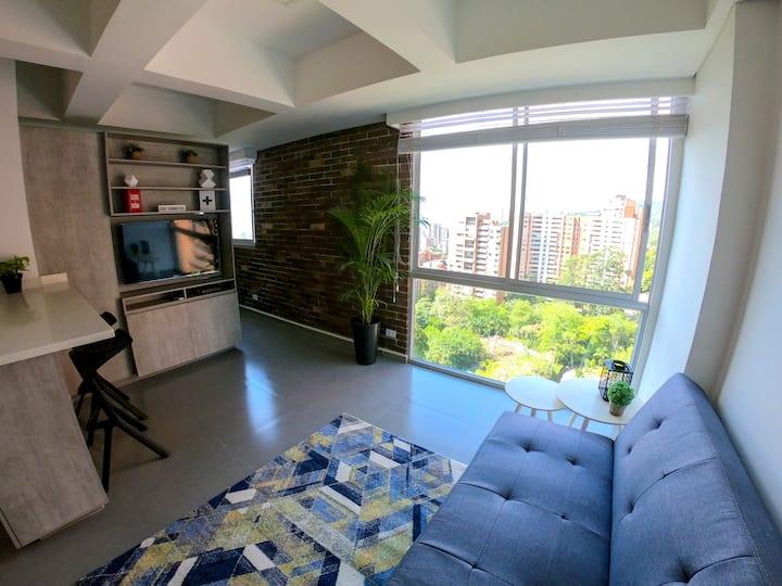 New Apartment, at El Poblado, Near Everything! 1/4