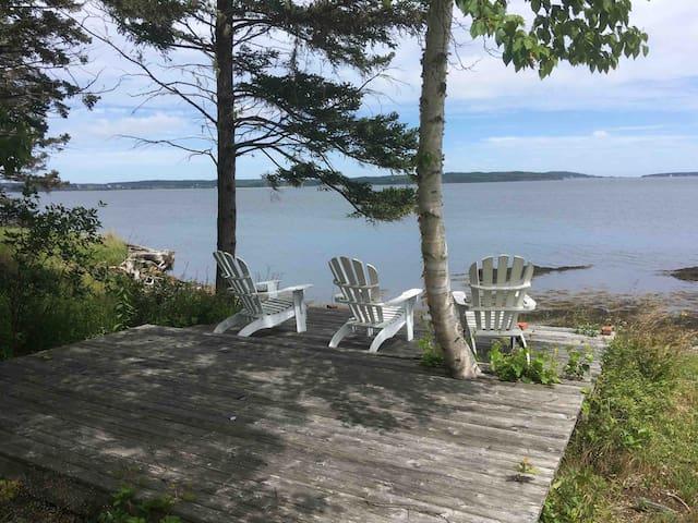 Mabel's Cottage - oceanfront - dog friendly