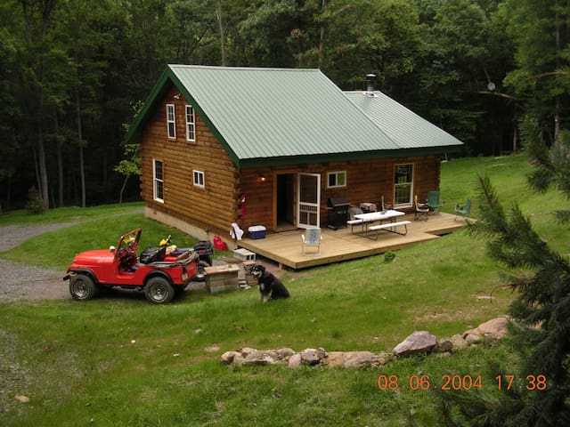view from above cabin