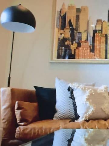 2 elegant soft beds &a cozy apartment
