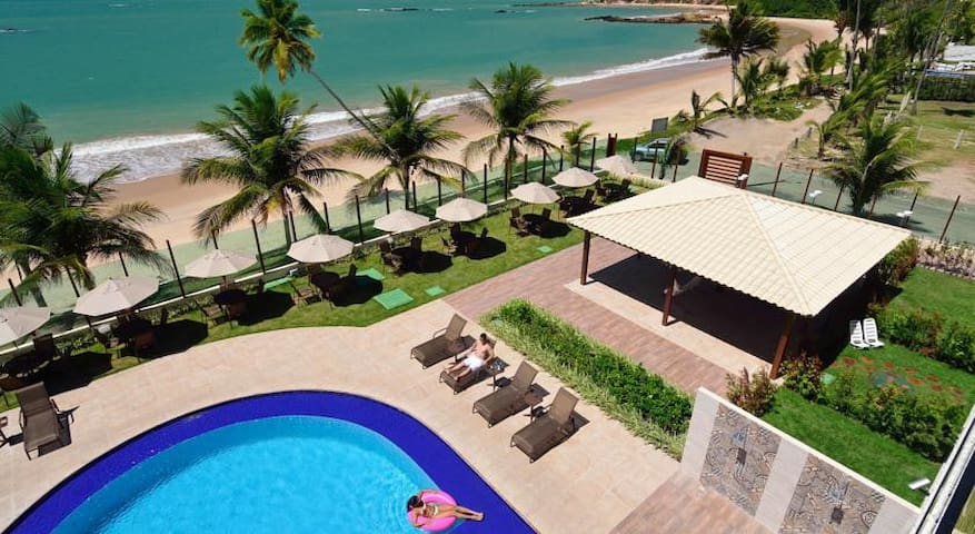 FLAT/HOTEL ON THE BEACH, NORD LUXXOR TABATINGA - Conde