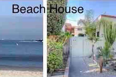Beach Bungalow studio back duplex/ private & gated