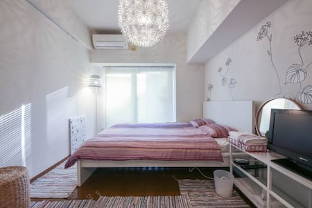 【New!!】12min to AKIHABARA by walk(1K/22㎡/Wi-Fi) - Bunkyō-ku - Flat