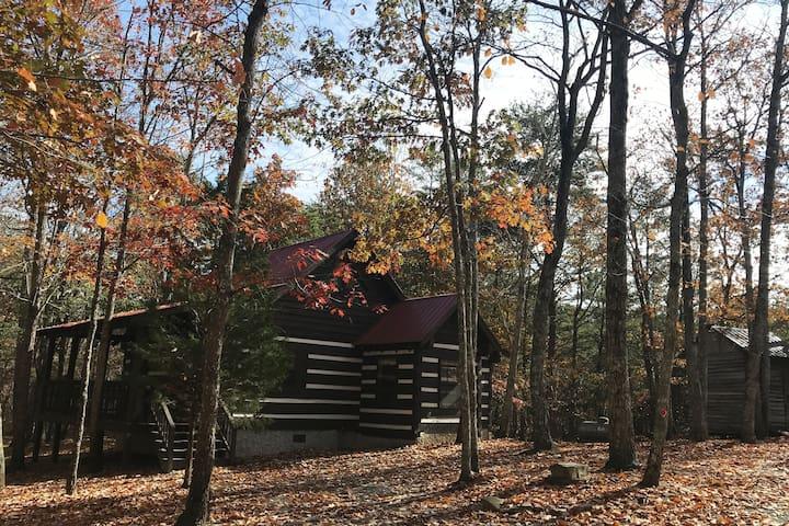 Rustling Oaks Cabin in Mentone