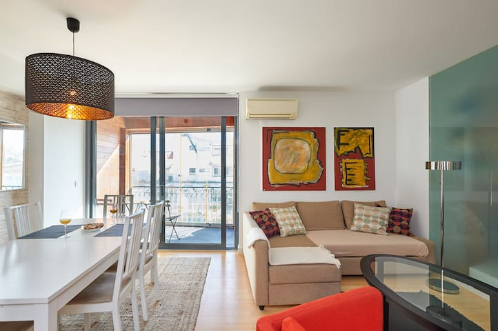 Valbom 3 BR in Cascais Center, ideal for families