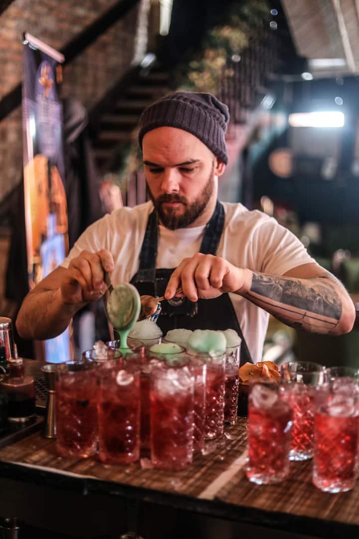 Soda serving up a unique cocktail
