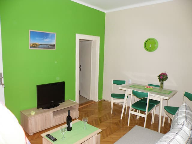 Central flat with parking & BBQ 54m2 - Apt. No. 2