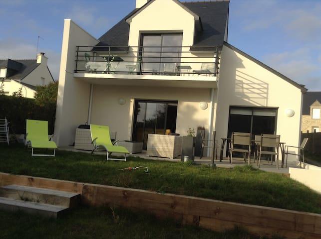 Maison récente à 300 m de la plage