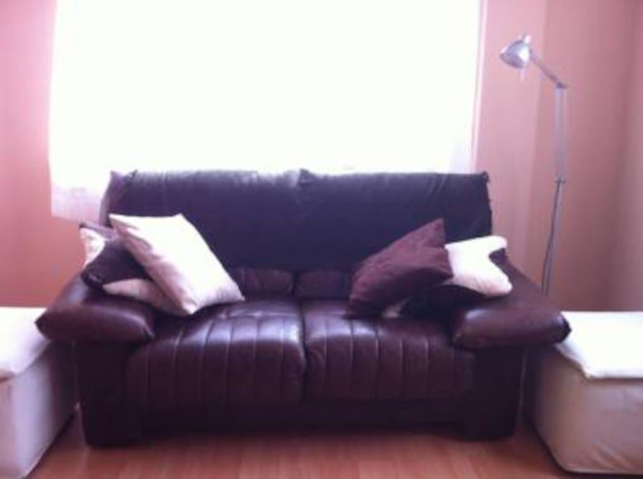 Salón, zona sofá
