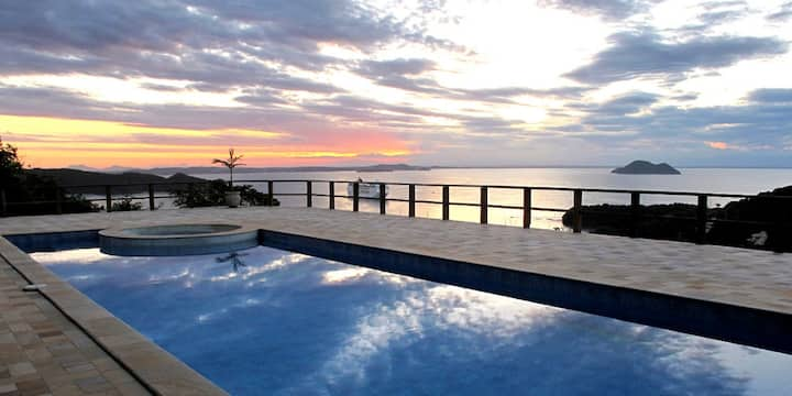 Spectacular ocean view luxury villa in Búzios!