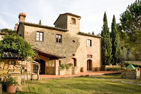 Charming independent villa Tuscany - 阿雷佐 - 别墅