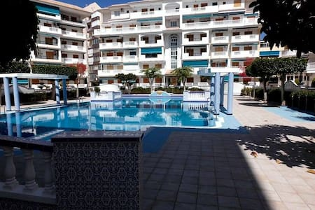 Apartment with two bedrooms 100m from sandy beach - La Mata