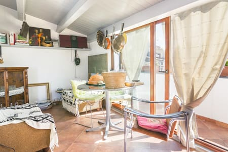 A suite with a view, beach nearby ! - Cuglieri - Haus