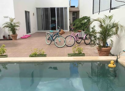 AMPLIA LINDA NEW CASA SWIMPOOL FAMILY NORT MERIDA