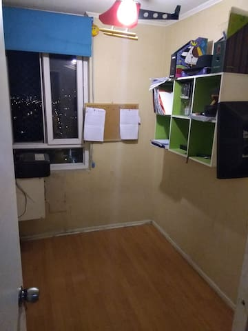Habitación en Departamento amoblado La Cisterna.