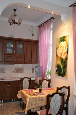 Cosy Apartament in the Heart of the Ternopil - Ternopil - Leilighet