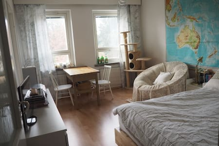 Small city apartment with cozy style - Byt
