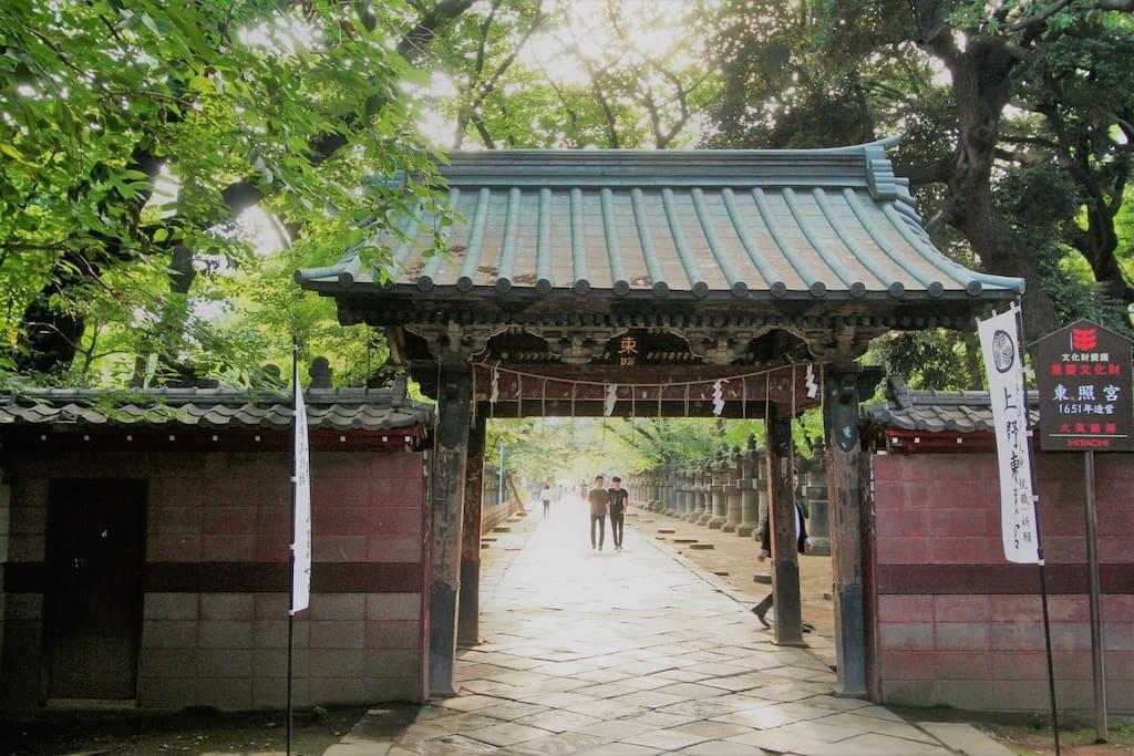 日暮里・上野周辺はお寺が沢山 A lot of temples around Nippori and Ueno.