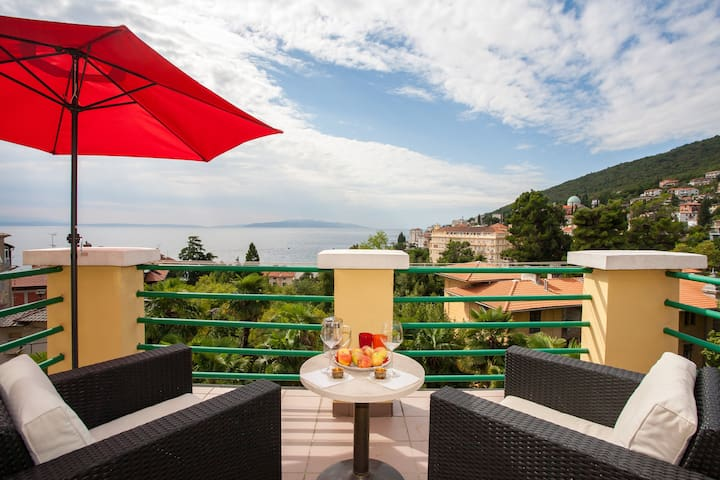 Most Special Penthouse Near Beach £ - Opatija