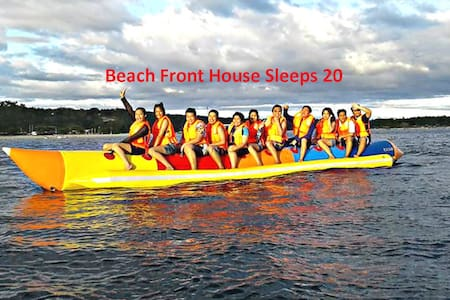 Beach Front House Sleeps 20 White Sand Hugom Laiya