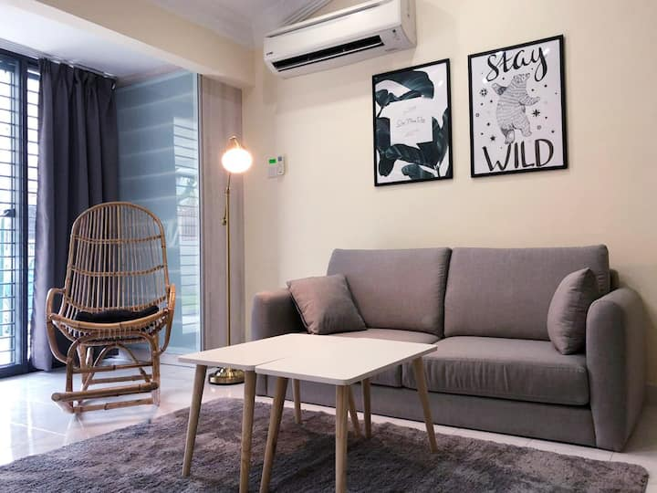 Cosy KL Home For Big Groups ☆ Perfect Location
