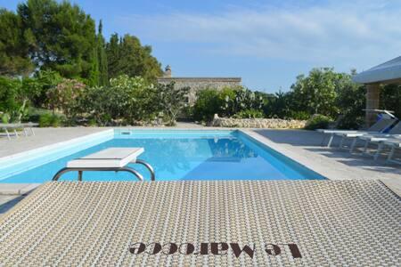 Le Marocce, 3 km to Castro, pool