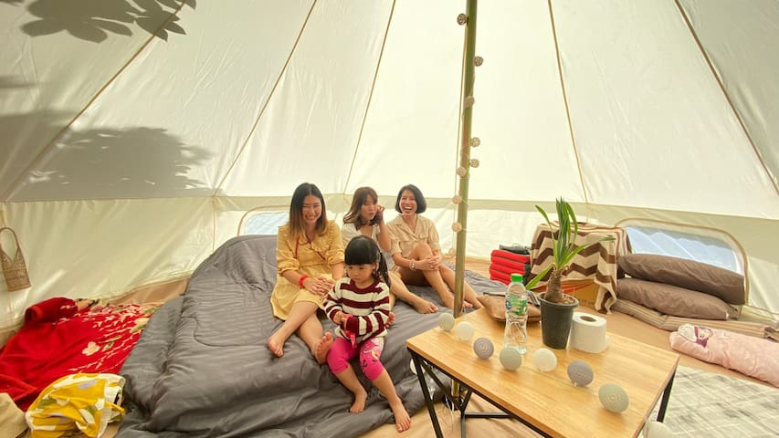 Camping Hut กระโจม B /ภูพาราแคมป์ @ภูกระดึง