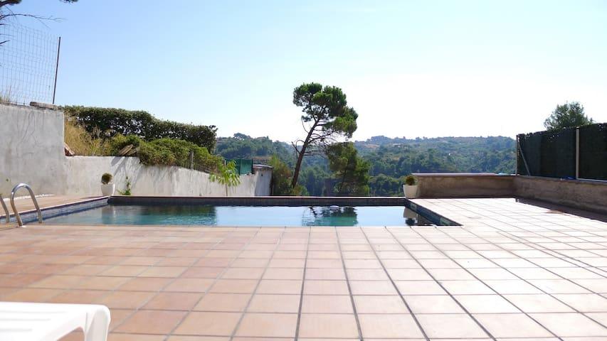 Gran casa con Piscina privada y vis - Les Carpes - Ev