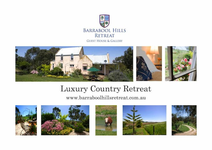 Barrabool Hills Retreat B&B, Vic.
