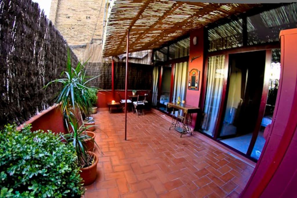 Magic terrace city centre appartamenti in affitto a for Appartamenti in affitto a barcellona