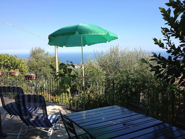 Apartment, 4 pax, garden & sea view - Lingueglietta - Pis