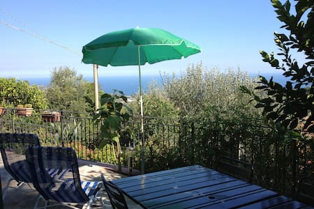 Apartment, 4 pax, garden & sea view - Lingueglietta