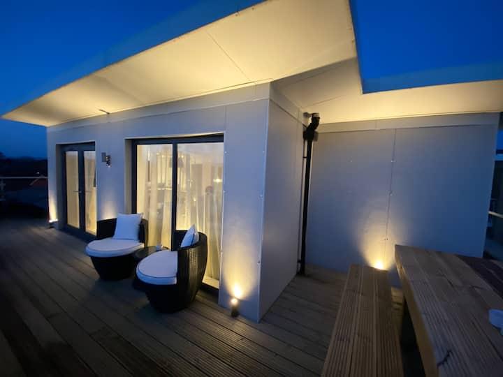 MyCorporateFlat - Penthouse Apartment 2 bed,2 bath