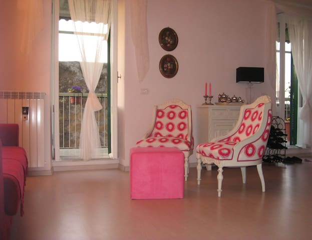 the little pink house between Rome and Tuscany - Canino - Apartment