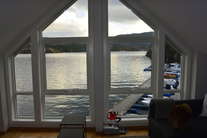 Modern fjord apartment - Hebnes - Appartement