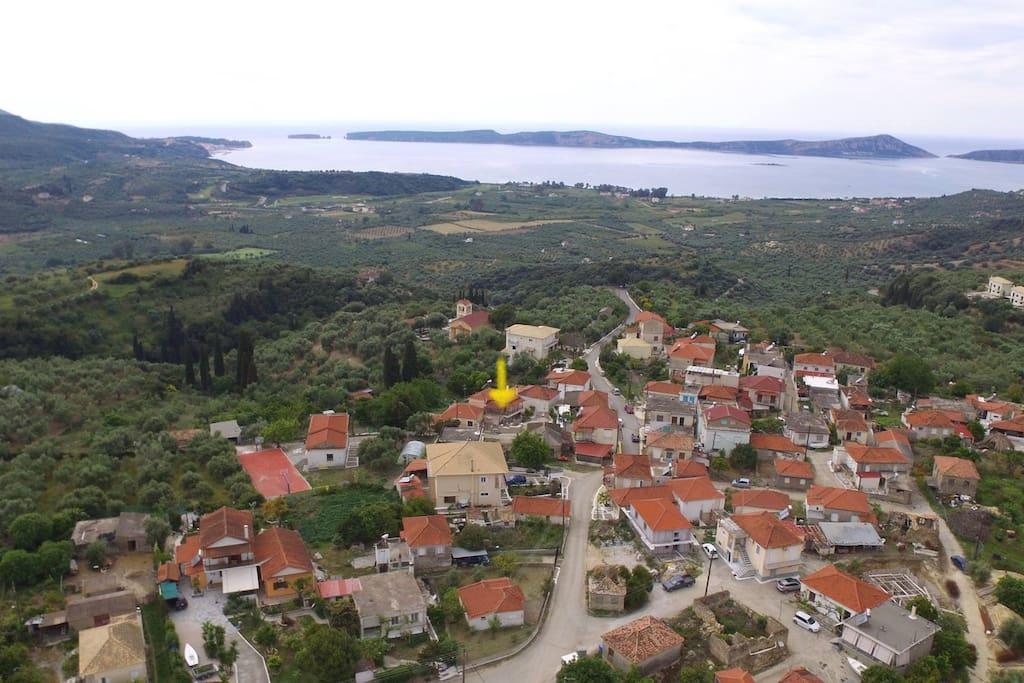 Pyla village