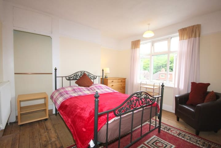 comfortable , warm double room use of house - Brighton - Wohnung