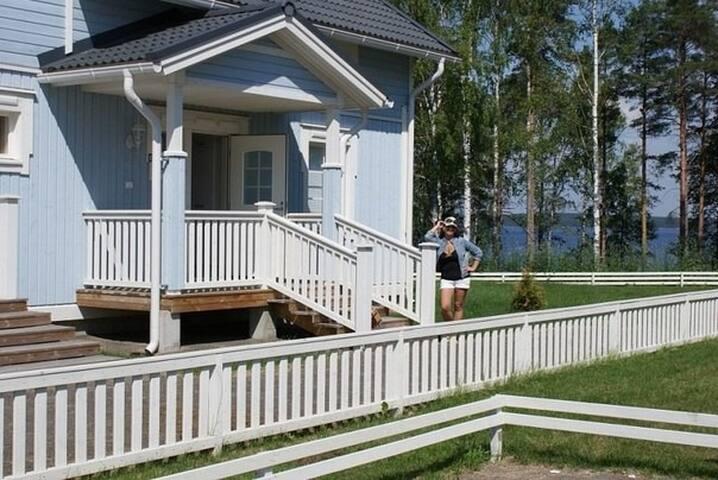 КОТТЕДЖ в Финляндии у озера Сайма - Imatra - Casa