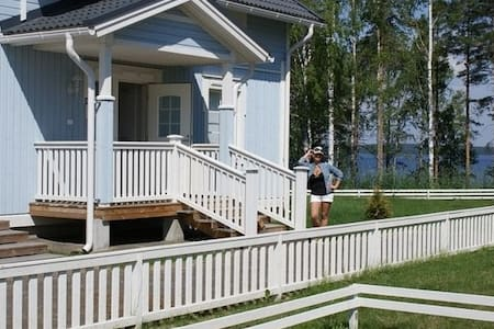 КОТТЕДЖ в Финляндии у озера Сайма - Imatra