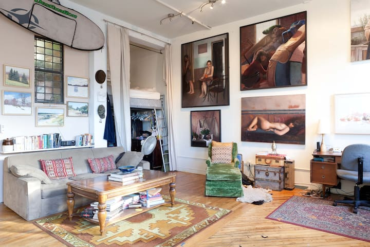 PRIVATE ROOM IN NYC ARTIST LOFT - Bronx - Loft