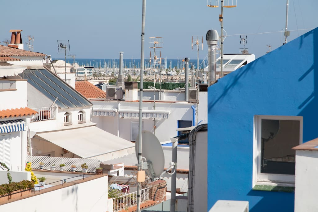 Sea view from the front terrace